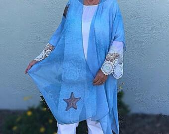 Starfish Sheer Wrap