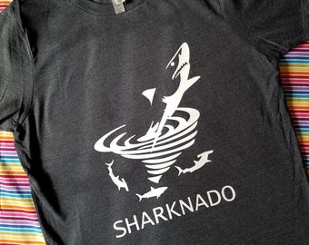 Boys Sharknado Shirt - Movie Shirt - TV Movies - Shark Shirt - Shark Gift - Shark Week