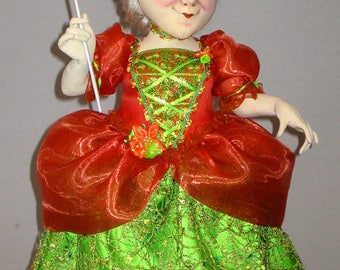 FAIRY GODMOTHER cloth doll pattern