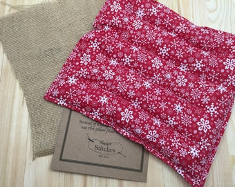Rice Heating Pad, Microwave heat Pack, Flaxseed, Lower back Heating pad, Corn Heating pad, Hot Cold Pack, aromatherapy, Father's Day Gift
