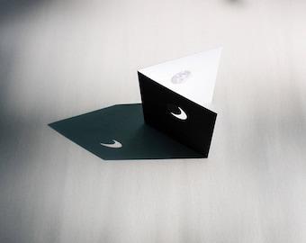 Moon Letterpress Card