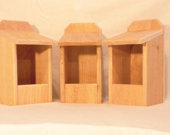 3 Cedar Nesting Boxes