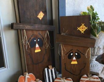 REVERSABLE scarecrow/snowman