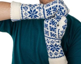 Selbu Mittens Warm Mitts Merino Gloves Winter Mittens Snow Mittens Hand Knit Mittens Handmade Mitts Woollen