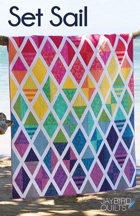 Pattern Set Sail Quilt By Jaybird Quilts Jbq164