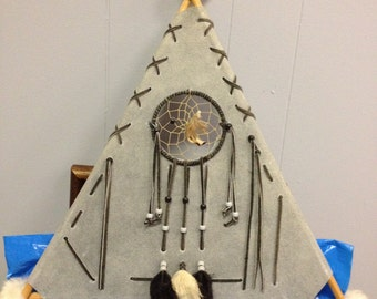 Wall Hanging Dream Catcher TeePee