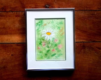 Watercolor painting by Anita Miller, Original Art, Original Painting, Anita Miller Artist, Flower Painting