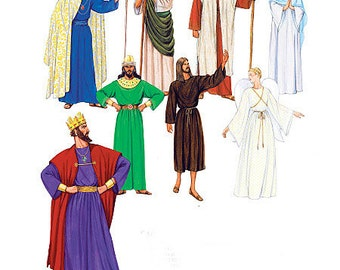 Nativity, Biblical, Angel, Wiseman, Shepherd, Joseph, Mary, Kings, Jesus, Costume Pattern by McCall's 7229