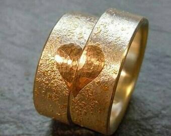 The 'Valentine' wedding ring