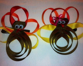 Turkey Ribon Bow....Boy or Girl