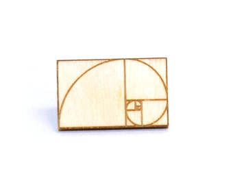 Golden Ratio Pin