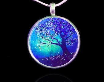 Firefly Tree Energy Healing Pendant - Jewelry For Healing