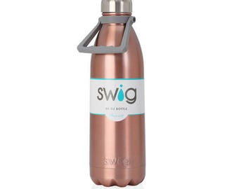 Rose Gold Water Bottle, Blank Swig, Blank Water Bottle, Water Bottle Blank, 50oz Bottle, Large Bottle, Vinyl Supplies, Engraving Supplies,