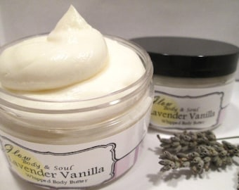Lavender Vanilla Body Butter Paraben Free Body Butter