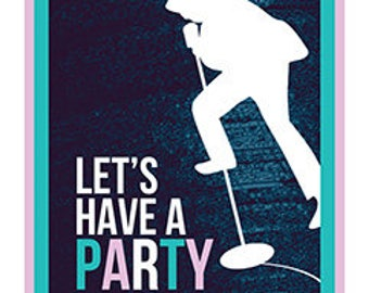 Let's Have A Party  Print