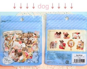 Animal Stickers - Dog Stickers - Dog Die Cut Stickers