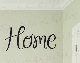 Home Family Love Living Room Vinyl Quote Design Art Wall Lettering Decal Saying Decoration Sticker Graphic Decor H22