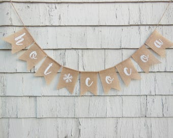 Hot Cocoa Banner, Hot Cocoa Sign, Winter Shower Decorations, Winter Wonderland Shower, Winter Onederland Party Decor, Hot Cocoa Bar