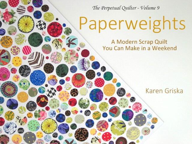 Paperweights Quilt Pattern Modern Scrap Quilt Easy Quilt : quilting patterns modern - Adamdwight.com