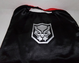 Black Panther cape, cape and mask, children's capes, party favors