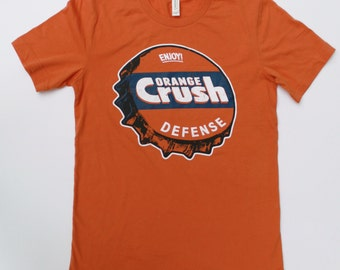 Denver Broncos - Shirt - Orange Crush Defense - Vintage Bronco Shirt