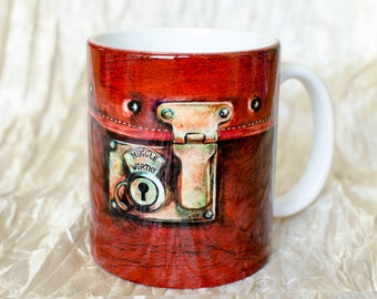 Fantastic beasts inside, Newt Scamander mug by Takila