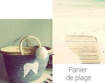 Beach baskets hearty, Angel Wings