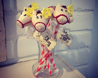 Horse cake pops Private listing