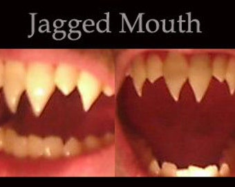 Jagged-Mouth Fangs (Custom made from scratch)