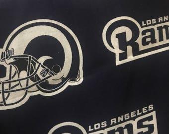 Los Angeles Rams makeup brush roll bag