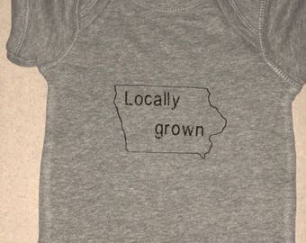 Iowa locally grown