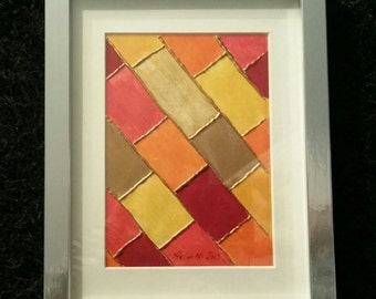 Moroccan Tile - Original Art By Helen McMahon