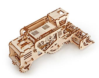 UGears -Combine Harvester- 3D Wooden Puzzles/Models - UGComb UTG0009