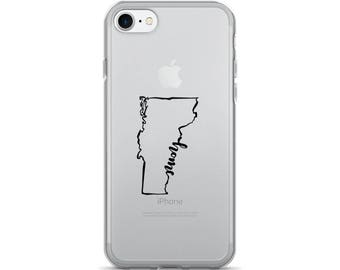 Vermont Home State - iPhone Case (iPhone 7/7 Plus, iPhone 8/8 Plus, iPhone X)
