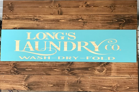 Farmhouse Style, Sign for Laundry Room, Rustic Farmhouse Decor, Rustic Style, Farmhouse Sign, Country Style Sign, Personalized Wood Sign