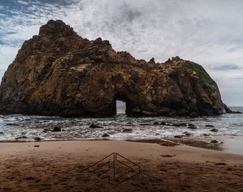 Big Sur Pfeiffer Beach-Big Sur, California, Ready to hang, wrapped canvas, metal or print photo