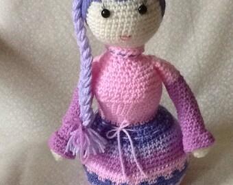Long braid doll.