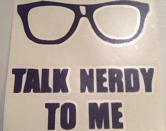 Talk Nerdy - 5-inch Decal