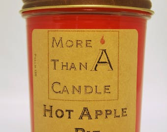 8 oz Hot Apple Pie Soy Candle