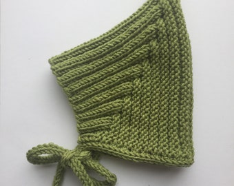Pixie hat, baby hat, woolly hat, knitted hat, different colours available