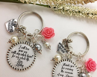 Mother of the Groom Mother of the Bride Mother in Law Wedding Gift Mother in Law Wedding Gift Mother of the Groom Keychain