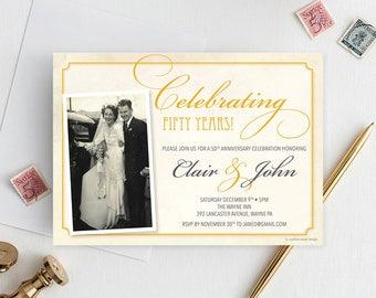 Instant download happy anniversary banner glitter