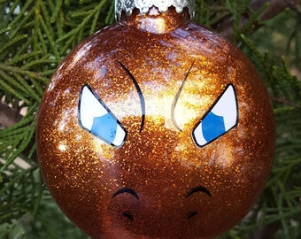 Charizard Face Pokemon Go Parody Christmas Holiday Ornament  * Add Year and/or Name for FREE to back  * Charmeleon * Charmander