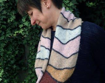 Hill Head Snood Knitting Pattern, pdf knitting pattern, scarf knitting pattern, cowl knitting pattern, knitting patterns for women