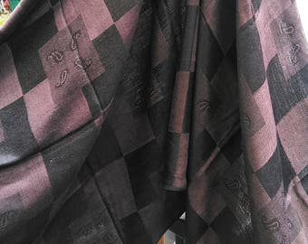 Chocolate Brown Scarves, Shawls, Wraps, Stoles.  FREE GIFT