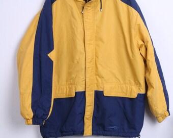 Etirel le style sportif Mens 2XL Jacket Padded Yellow Sport