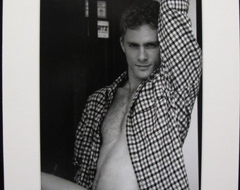 """Male Erotic Photography by Ed Cox - Christian """"Shirt"""" Overtown, Miami 1996"""