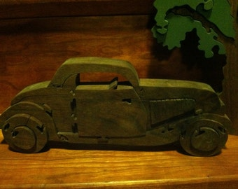 1934 Ford Coupe car puzzle