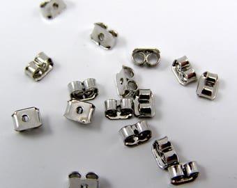 Tips push for set of 50 Platinum earrings