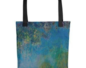 Claude Monet, Wisteria - Tote bag